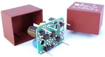 AC / DC Printmodule - reguliert, 3.2 - 4 W